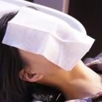 アトピー肌には美容院の洗髪ガーゼがくすぐったい!