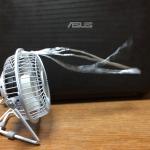 人生初USB扇風機!僕はELECOMのやつに決めた!